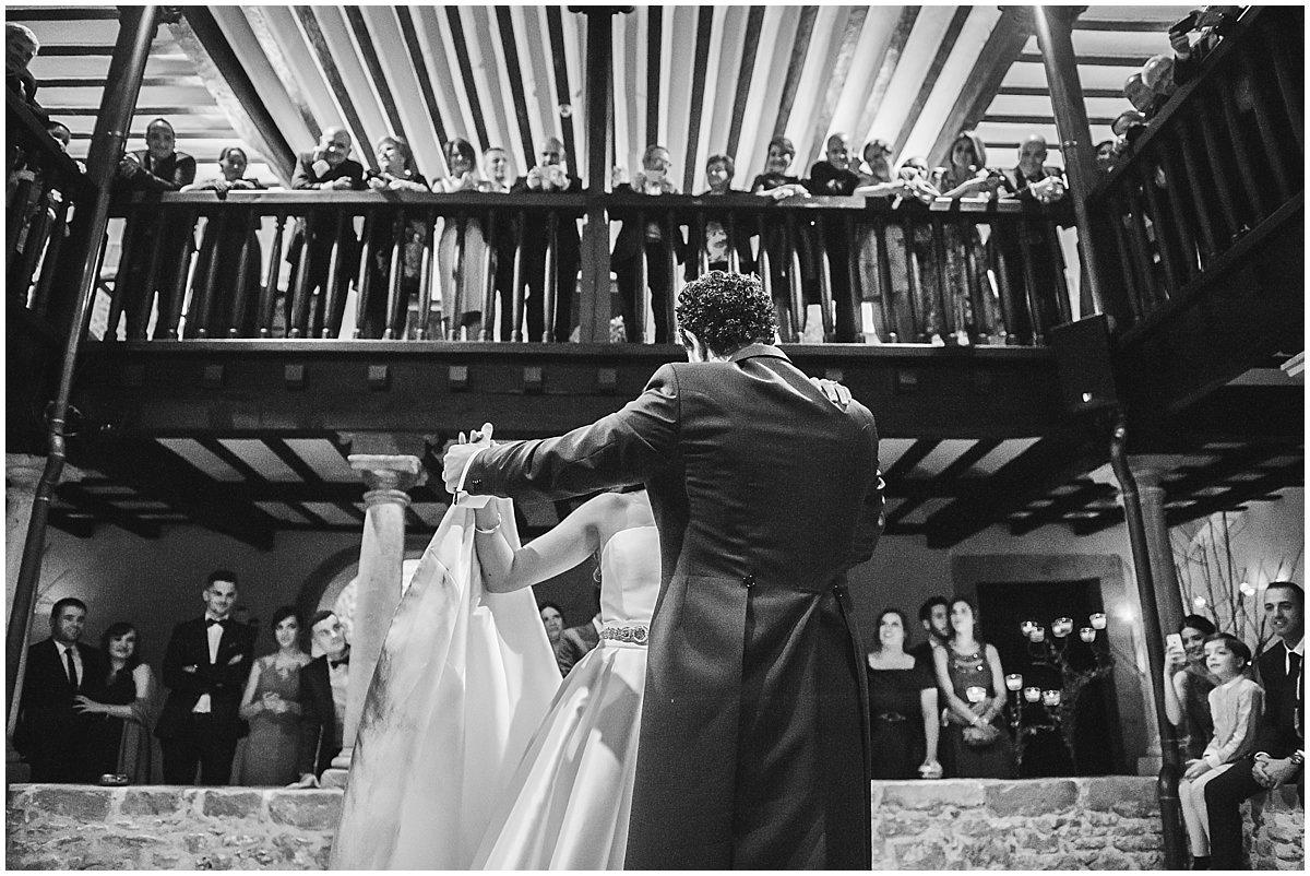 Baile de boda en Meres Jose Castano fotógrafo